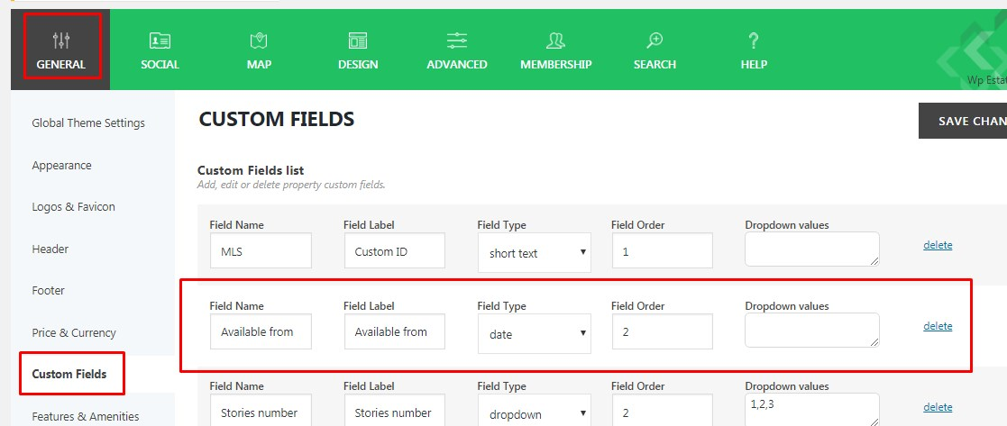 Advanced Search custom fields setup « Help for WpEstate – a