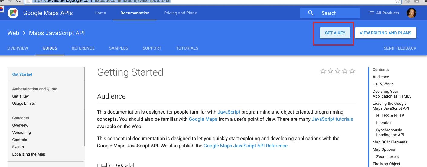 Mandatory: Google API Key « Help for WpEstate – a Real